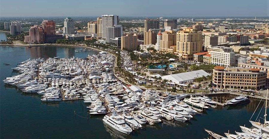 Manta Racks Palm Beach International Boat Show