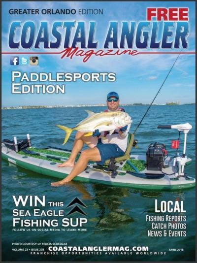 Coastal Angler Magazine - Manta Racks