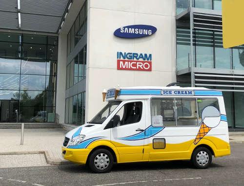 Office Ice Cream Van Hire