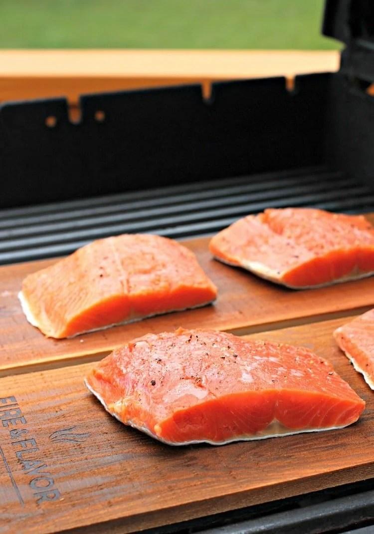 Fish Plank Cedar Oven