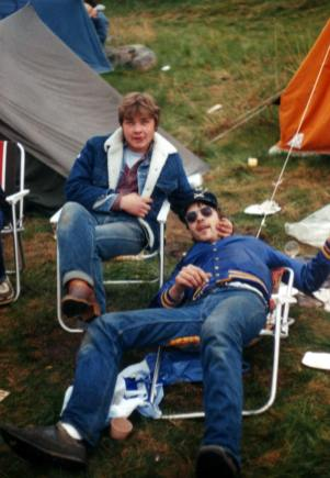 Campingliv med Atle og Jan