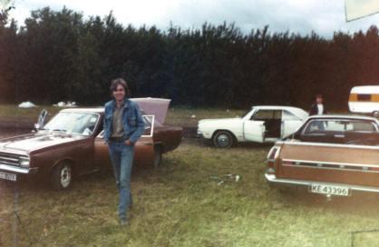 Jan K. Opel, Dart, Ranchero på Mantorp tidlig 1980 tallet
