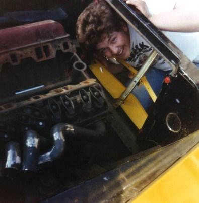 Morten i motorrommet