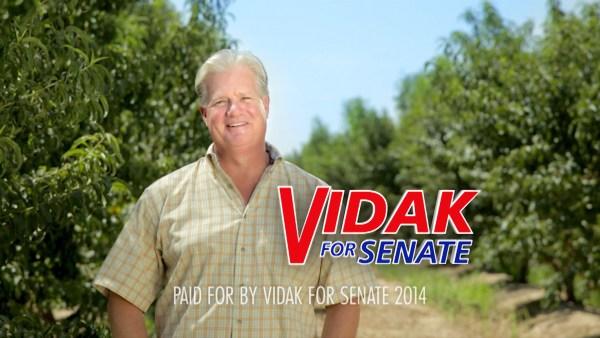 Vidak for Senate - The Farmer