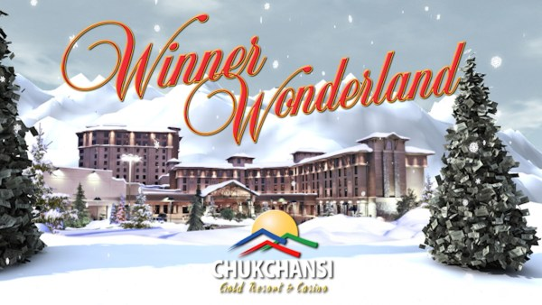 Chukchansi Gold - Winner Wonderland