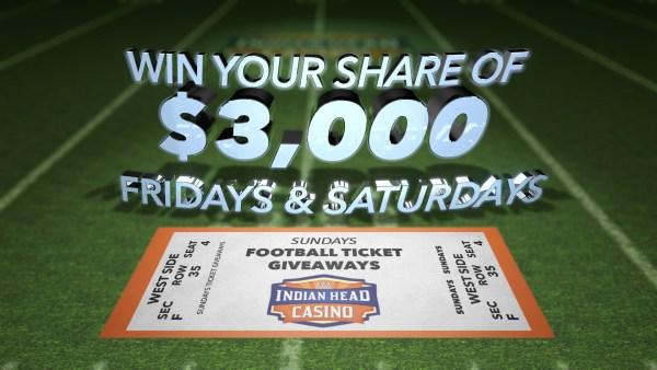 Indian Head Casino - $50,000 Footbal Fever