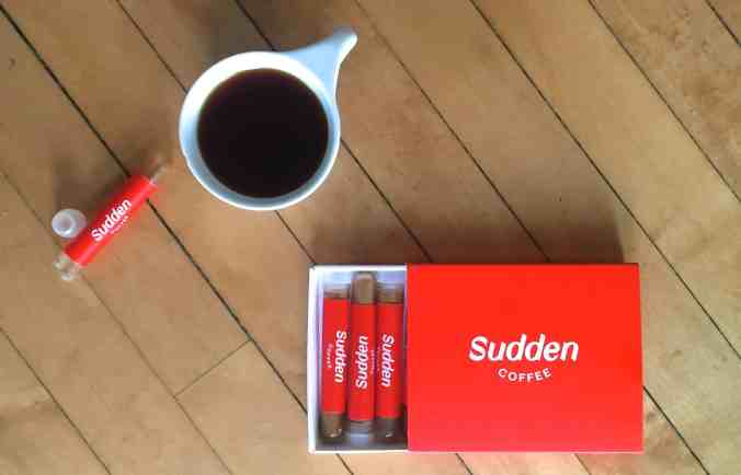 Third Wave Instant Coffee-Sudden Coffee Review - Brewing Coffee Manually