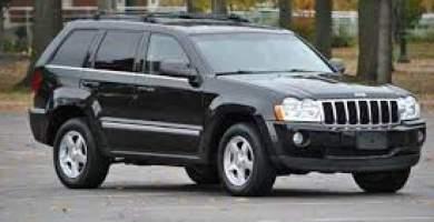 Manual Jeep Grand Cherokee 2005 de Propietario