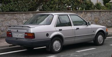 Manual Ford Orion 1997