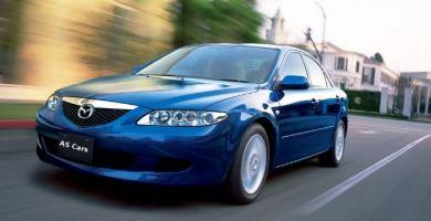 Manual Mazda 6 2002