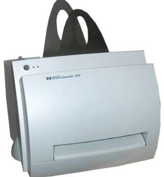 Manual Hp LaserJet 1100