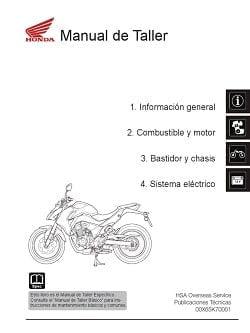 Manual Moto Honda CR 250 Reparación en PDF