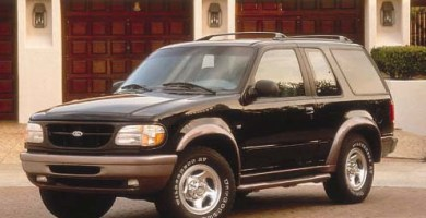 Manual Ford Explorer 1998 Reparación y Servicio