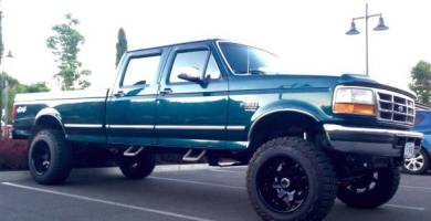 Manual Ford F-250 1997 Reparación y Servicio