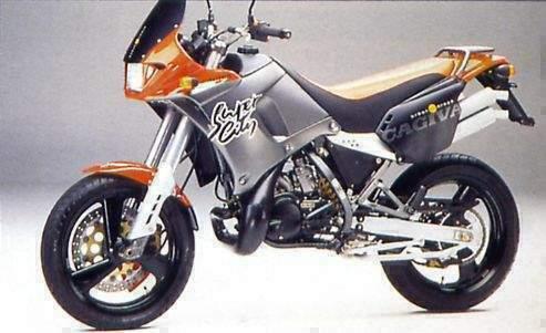 Manual Moto Cagiva City 1992 Reparacion y Servicio