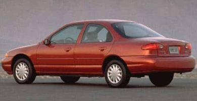 Manual CONTOUR 1997 Ford PDF Reparación Taller