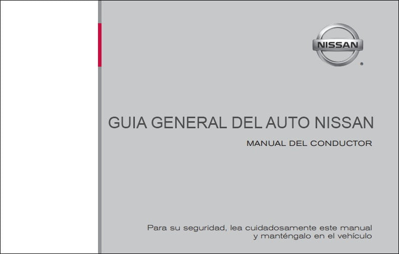 Manual de Usuario De Nissan Versa 2009
