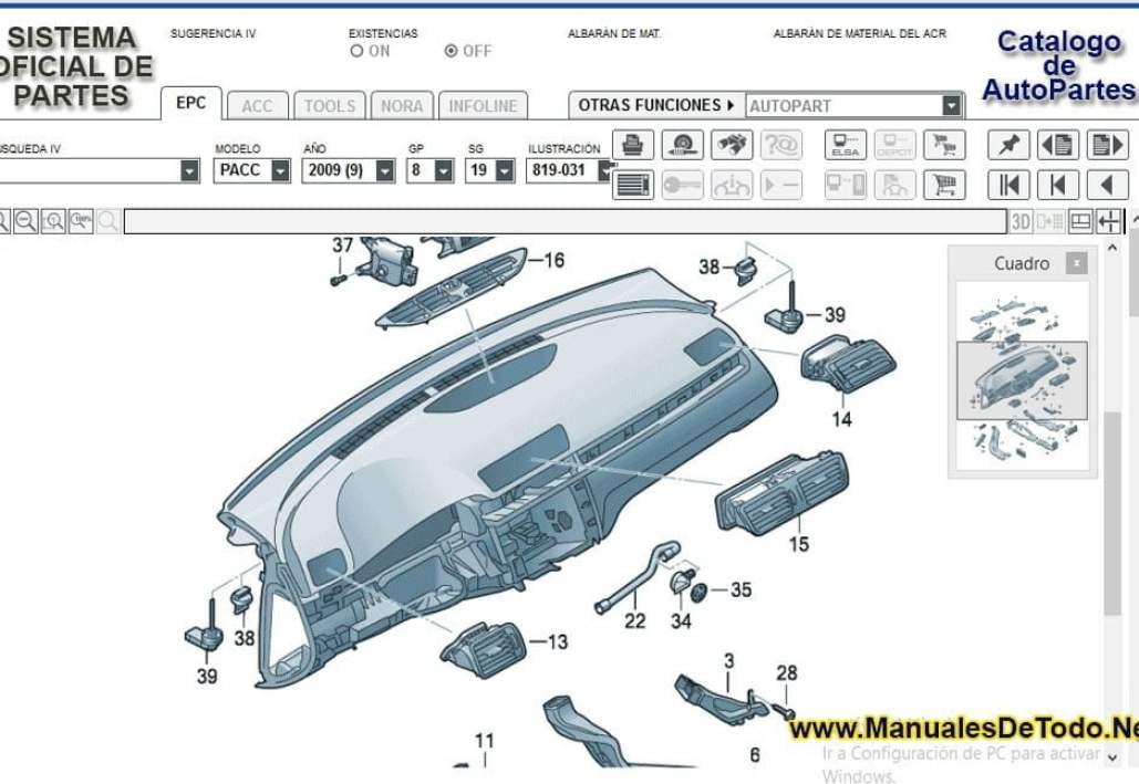 Refacciones para el Motor de Volkswagen LT 2006