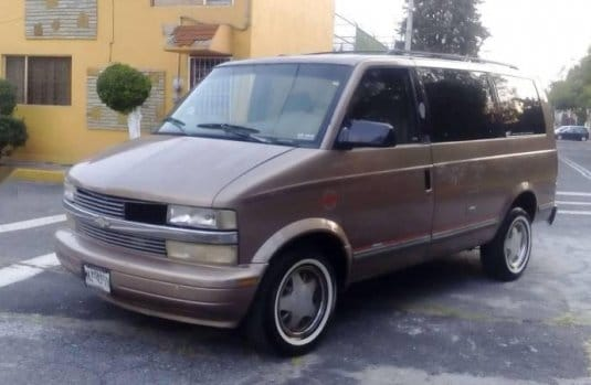 Manual de Usuario CHEVROLET Astro 1997 en PDF Gratis