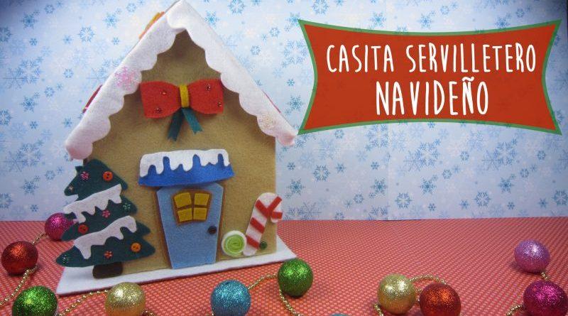 Servilletero en Fieltro para Navidad