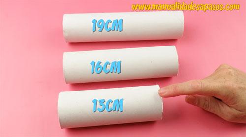 rollos de papel higienico manualidades