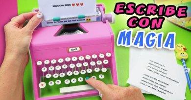 MÁQUINA DE ESCRIBIR MAGICA