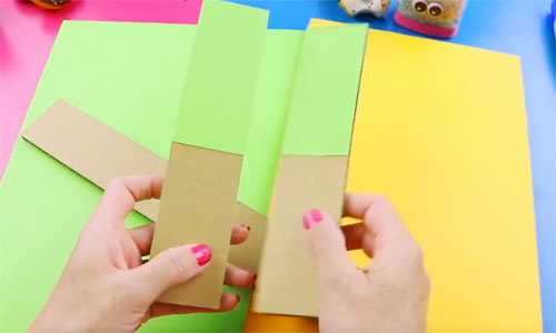 Organizador de escritorio piezas de carton