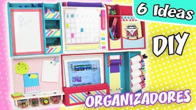 Organizador DIY de pared