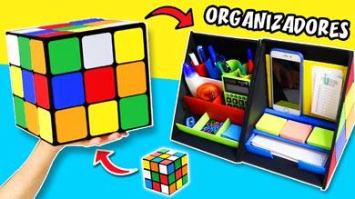 Organizador de escritorio cubo de rubik