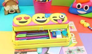 Como hacer estuches de emoji