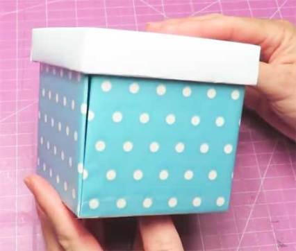 como hacer una caja sorpresa de cumpleaños