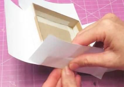 como hacer una tarjeta explosiva