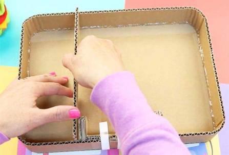 compartimento de la maleta con codigo secreto