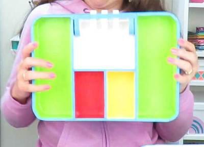 maleta codigo secreto pintada