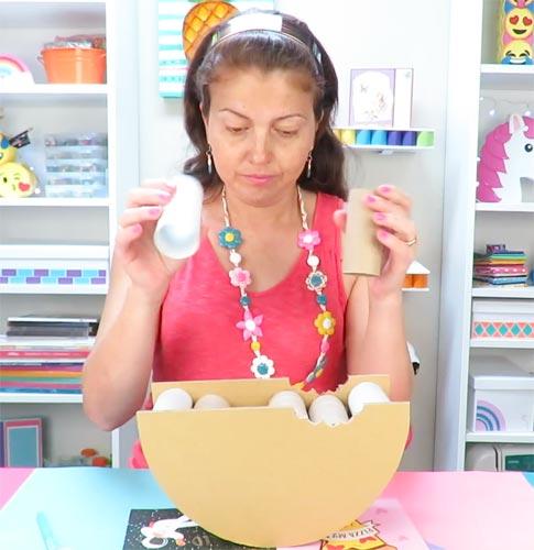 manualidades apasos con rollos de papel