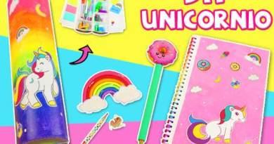 Utiles escolares unicornio 2019