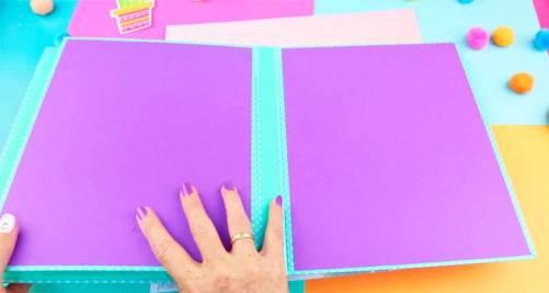 como hacer una carpeta escolar