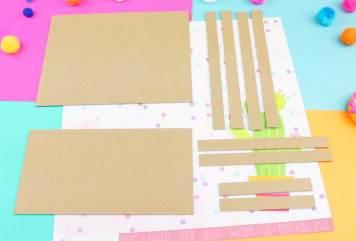 materiales para hacer una carpeta de carton