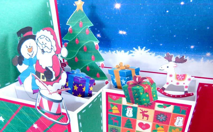 Tarjeta de navidad manualidades
