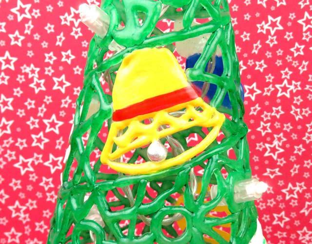adornos navidad con silicona caliente