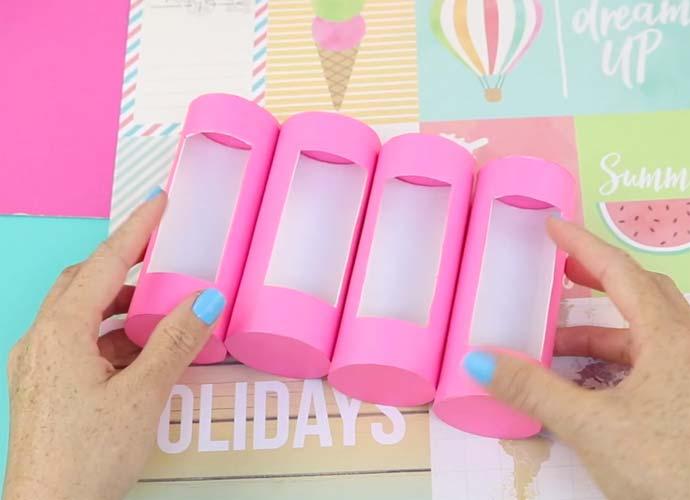 manualidades con tubos de carton de papel higienico