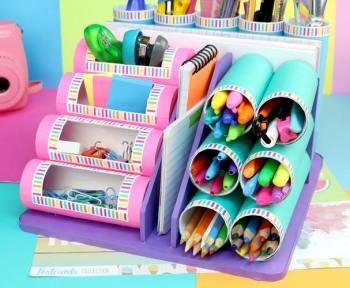manualidades con tubos de carton