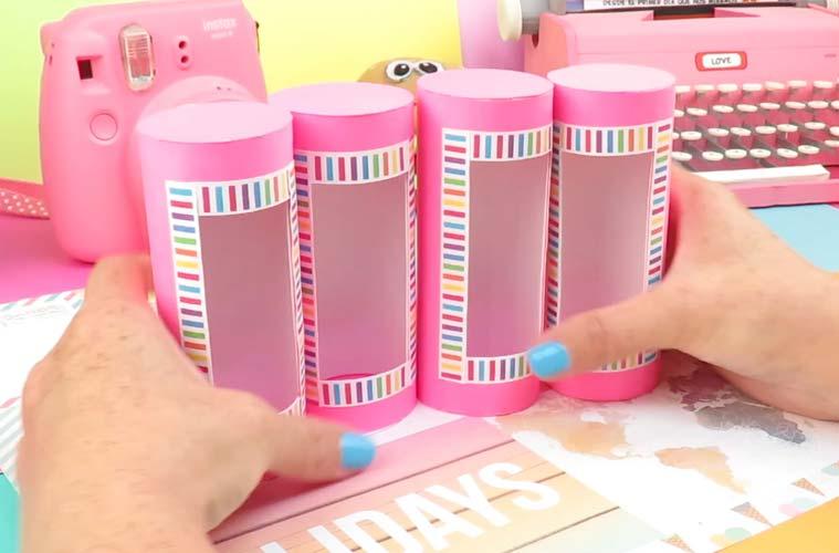 manualidades con tubos de papel higienico paso a paso