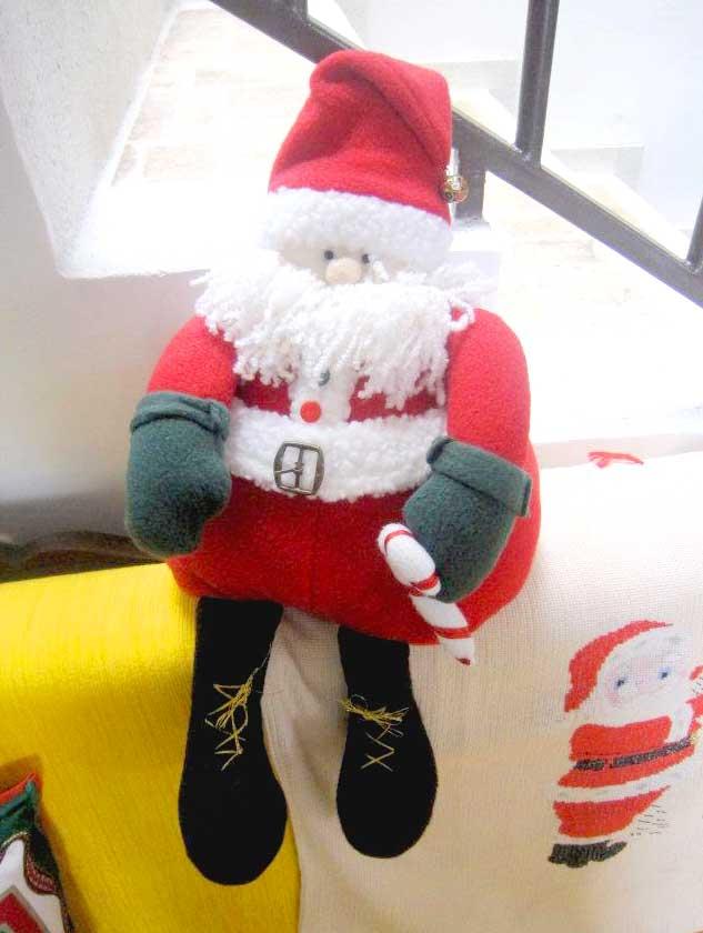 Santa Claus en polar o paño lency