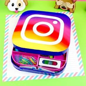 Estuche instagram regreso a clases
