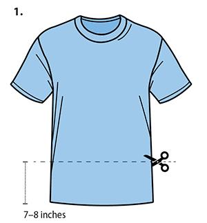 cubrebocas en tela sin hilo ni aguja