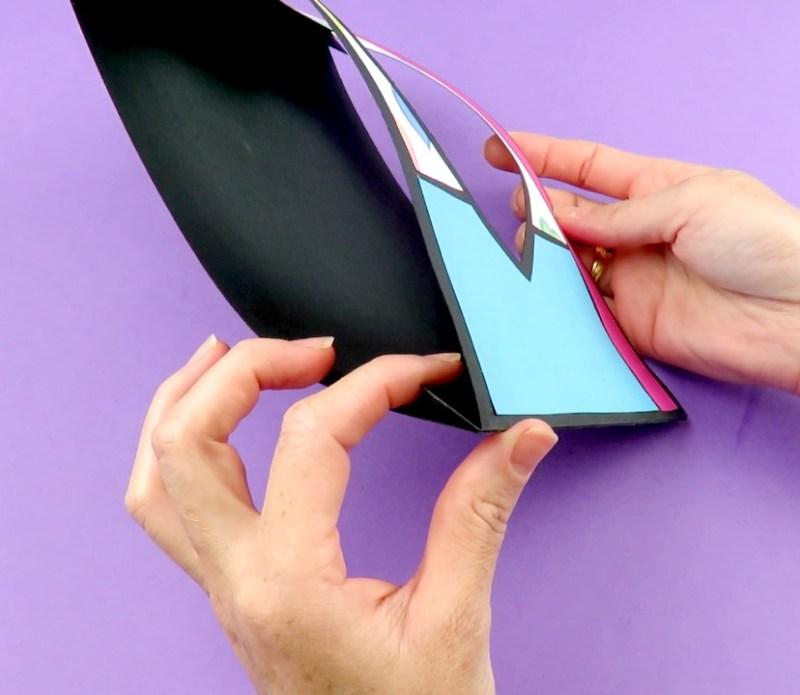 Como hacer tarjeta estirable