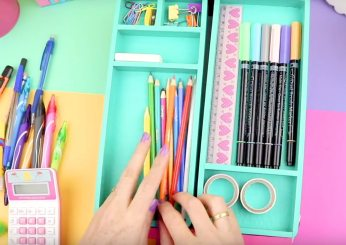 Organiza tus utiles escolares