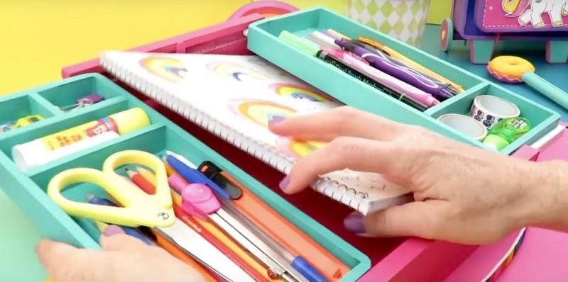 Organizador para cuadernos