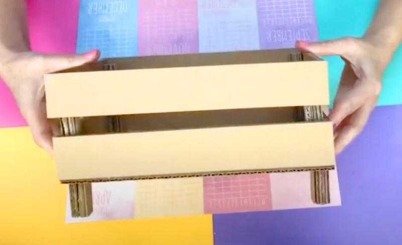 Caja de frutas de carton